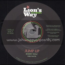 """Lions Way Records-7""""-Jump Up / Barry Issac"""