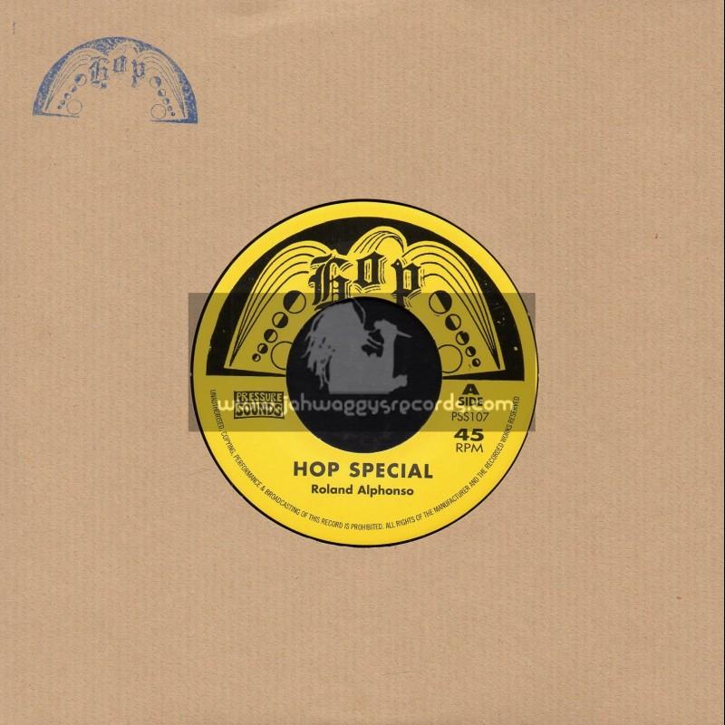 "Hop-Pressure Sounds-7""-Hop Special / Roland Alphonso + Food Of Love / The Inventors"