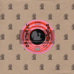 """Upsetter Records-Pressure Sounds-7""""-Zion / The Flames"""