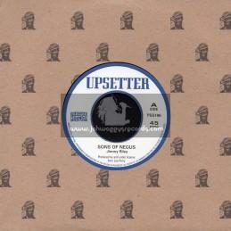 "Upsetter-Pressure Sound-7""-Sons Of Negus / Jimmy Riley"
