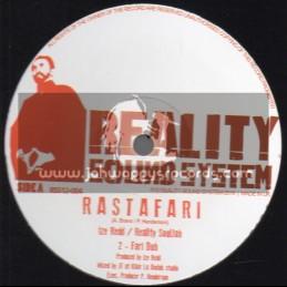 "Reality Sound System-12""-Rastafari / Ize Redd - Reality Souljah"