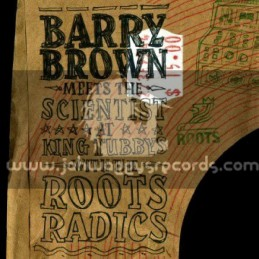 Roots-Lp-Barry Brown Meets The Scientist At King Tubbys With The Roots Radics