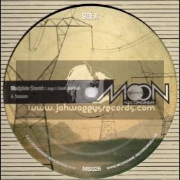"Moonshine Recordings-12""-Tension / Madplate Sound Ft. Jago & Galak Spiritual"