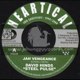 "Heartical Records-7""-Jah Vengeance / David Hinds + Virtual Dubbing / BDF & Dub Terror"