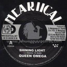"Heartical Records-7""-Shinning Light / Queen Omega + Wise Enough / Roberto Sanchez"