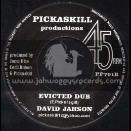 "Pickaskill Productions-7""-Eviction / David Jahson"