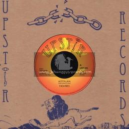 """Upstir Records-7""""-Hotta Lava / Fada Rees + Dub Furnace / Fada Rees"""