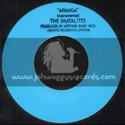 "Archive Recordings-7""-Apanga / The Skatalites"