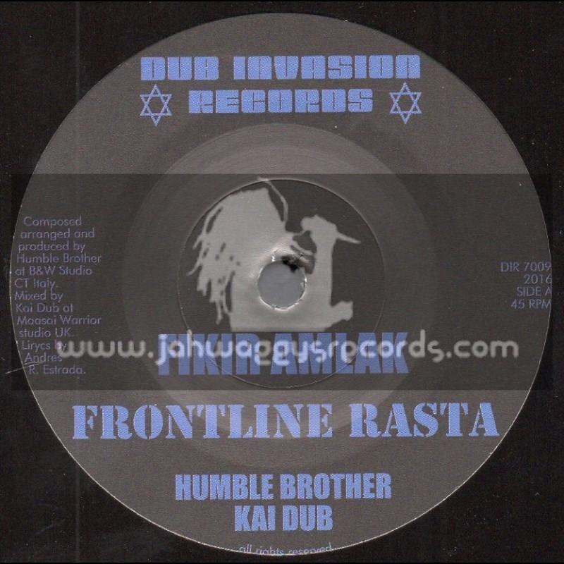 "Dub Invasion Records-7""-Frontline Rasta / Fikir Amlak - Humble Brother Meets Kai Dub"