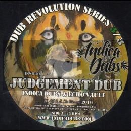 """Indica Dubs-7""""-Dub Revolution Series-3/3-Judgement Dub / Indica Dubs Meets Echo Vault"""