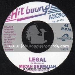 "Hit Bound-7""-Legal / Micah Shemaiah & Rassi Hardknocks"