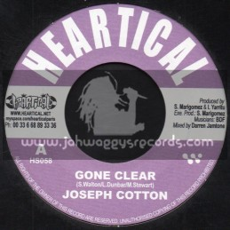 "Heartical Records-7""-Gone Clear / Joseph Cotton + Rise Again / Zareb"