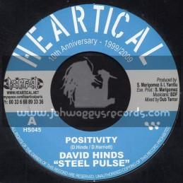 "Heartical Records-7""-Positivity / David Hinds + Midnight Organ / BDF"