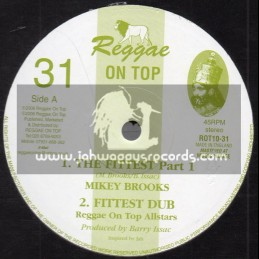 """Reggae On Top-10""""-The Fittest / Mikey Brooks"""