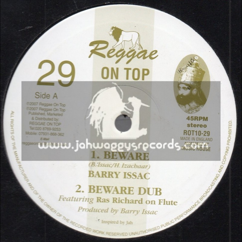 "Reggae On Top-10""-Beware / Barry Issac + Ancient Flute Mixes / Ras Richard Doswell"
