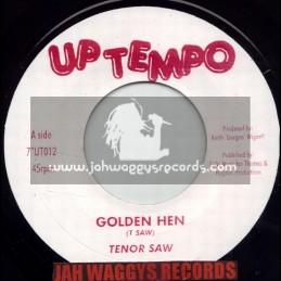 """UP TEMPO-7""""-GOLDEN HEN - TENOR SAW"""