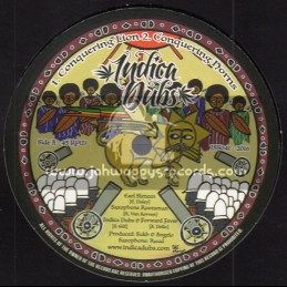 "Indica Dubs-10""-Conquering Lion / Earl Sixteen + Jah Guide & Protect / Danman - Indica Dubs Meets Forward Fever"