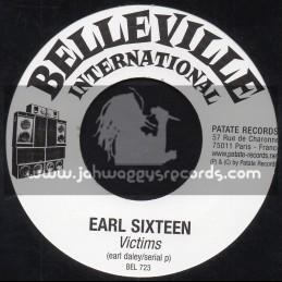 "Belleville International-7""-Victims / Earl Sixteen + Plant Deh Vegetables / Joseph Cotton"