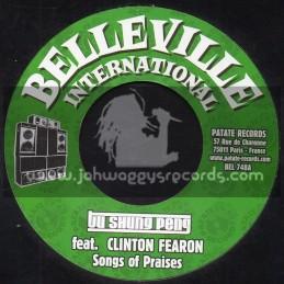 "Belleville International-7""-Songs Of Praises / Clinton Fearon + Filthy Act / Joseph Cotton"