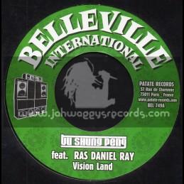"Belleville International-7""-Vision Land / Ras Daniel Ray + Come Rock With Me / U Roy"