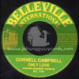 "Belleville International-7""-Only Love / Cornell Campbell"
