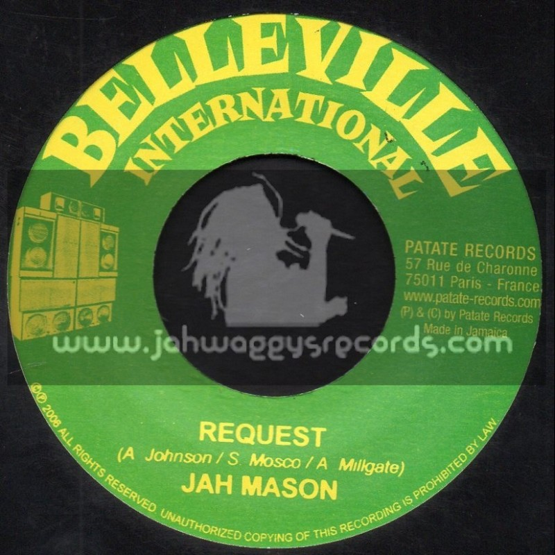 "Belleville International-7""-Request / Jah Mason Meets Jah Warrior"