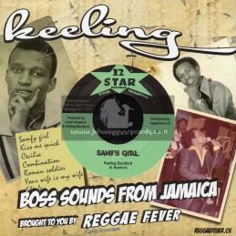 "12 Star Records-7""-Samfy Girl / Keeling Beckford + Samfy Skank / Music Company"