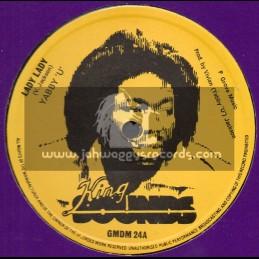 "King Sounds-12""-Lady Lady / Yabby U + Stop Your Quarrelling / Yabby U And Tommy McCook - Original Press"