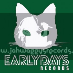 """Early Days Records-12""""-Flames For The Wicked Man / Pinchers + Cash Flow / R. Ffrench"""
