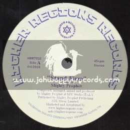 """Higher Regions Records-7""""-Stand Firm / Mighty Prophet"""