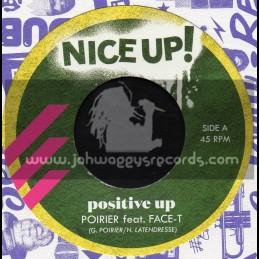 "Nice Up Records-7""-Positive Up / Poirier Feat. Face T"
