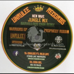 """Unrulee Records-10""""-Warriors Ep-Prophecy Riddim-Jungle Mix"""