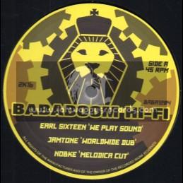 "Bababoom Hi Fi-12""-We Play Sound / Earl Sixteen + Life On Line / I-Mitri - Jamtone Riddim Section"