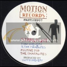 """Motion Records-10""""-Statlight / Tony Brevett & The Israelites"""