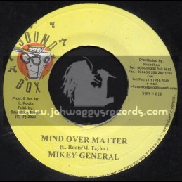 "Sound Box Records-7""-Mind Over Matter / Mikey General"