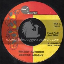 "Ossie Music-7""-Secret Admirer / George Wright"