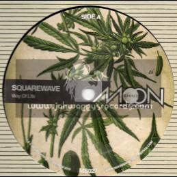 "Moonshine Recordings-12""-Way Of Life / Squarewave + Way Of Life / Sukh Knight Remix"