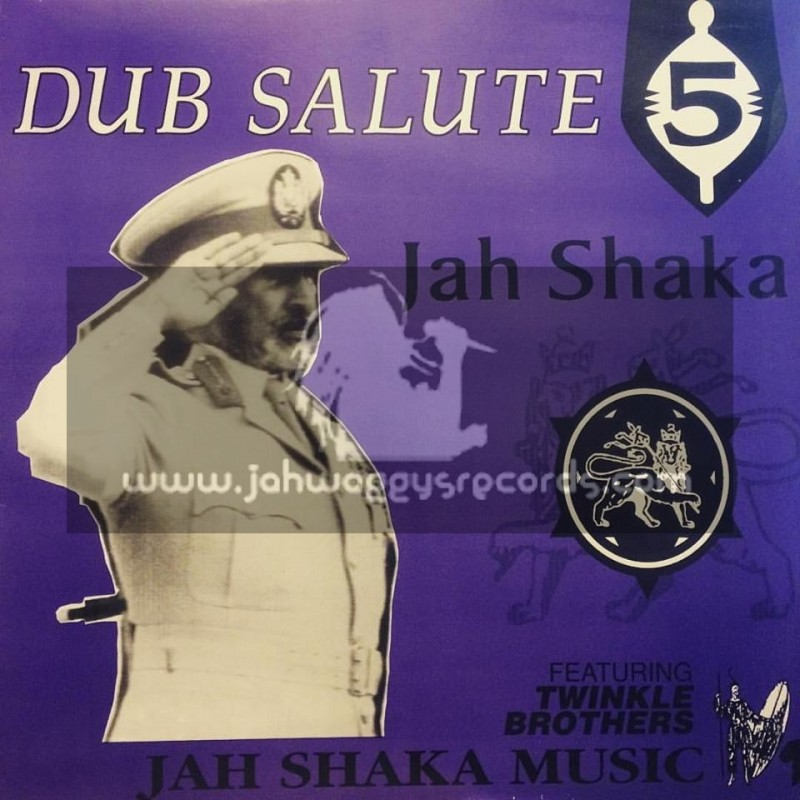 Jah Shaka Music-LP-Dub Salute 5 Featuring The Twinkle Brothers