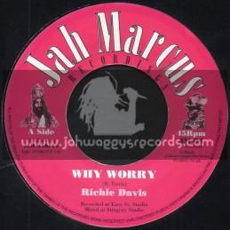 "Jah Marcus Recordings-7""-Why Worry / Richie Davis"