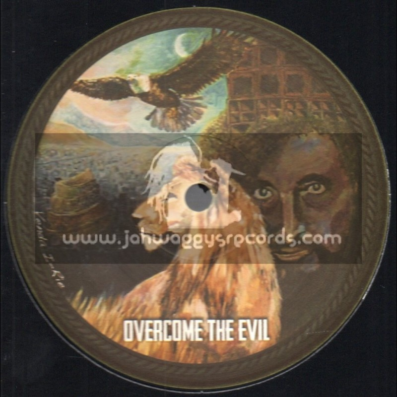 "Dub O Matic Records-12""-Overcome The Evil / Dubzoic Feat. Sistasara"