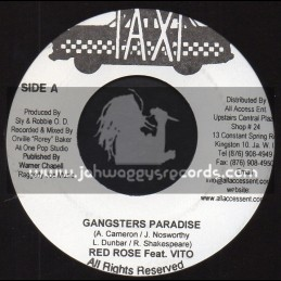 """Taxi-7""""-Gangsters Paradise / Red Rose Feat. Vito"""
