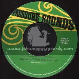 "Pressure Sounds-7""-Aquarius Rock / Augustus Pablo With Herman"