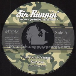 "Sir Runnin Records-7""-Survivor / Paul Fox Ft. Saimn-I"