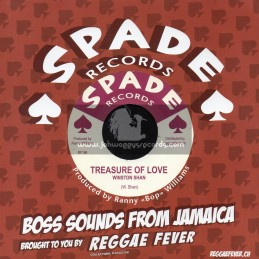 "Spade Records-7""-What A Big Surprise / Ethiopians + Treasure Of Love / Winston Shan"