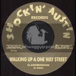 "Shockin Austin Records-7""-Walking Up A One Way Street / Clarendonians"