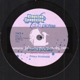 "Kingston Connexion-Dub Plates-10""--Man Of Sympathy / Prince Hammer - Limited 250 Cut"