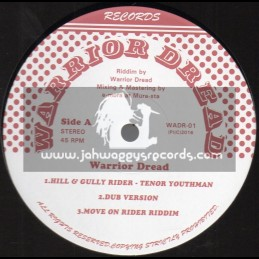 "Warrior Dread Records-12""-Hill And Gully Rider / Tenor Youthman"