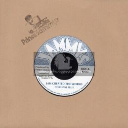 """Jammys-7""""-Jah Created The World / Hortense Ellis"""