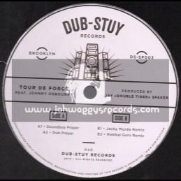 "Dub Stuy Records-12""-Soundboy Prayer / Tour De Force Feat. Johnny Osbourne"