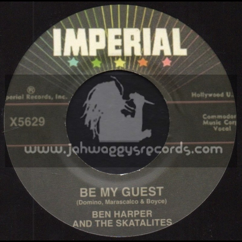 """Imperial-7""""-Be My Guest / Ben Harper And The Skatalites + I Want You To Know / Toots And The Maytals"""